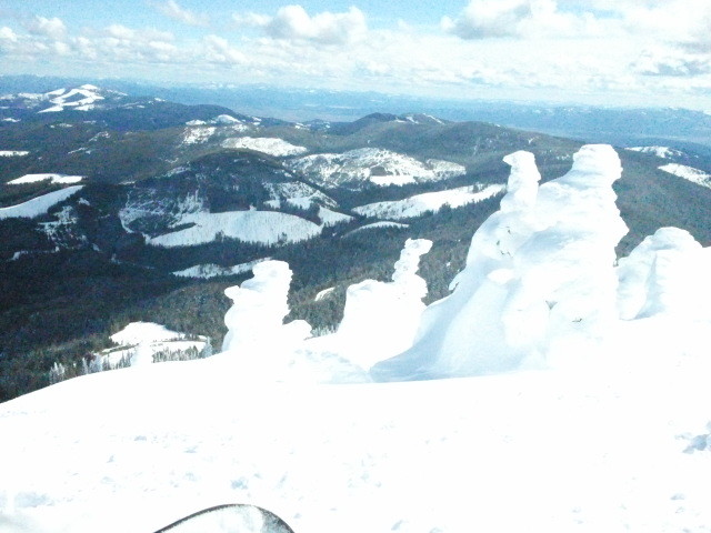 Mt Spokane Ski and Snowboard Park snow