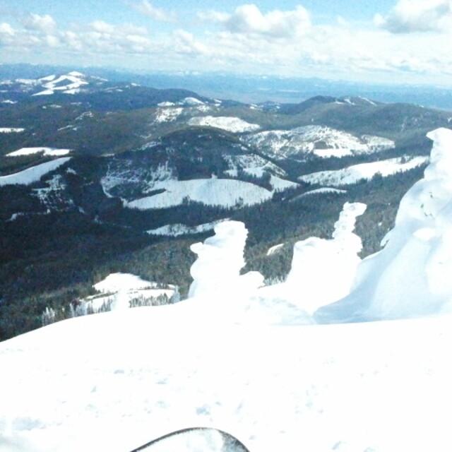 Representin the can, Mt Spokane Ski and Snowboard Park