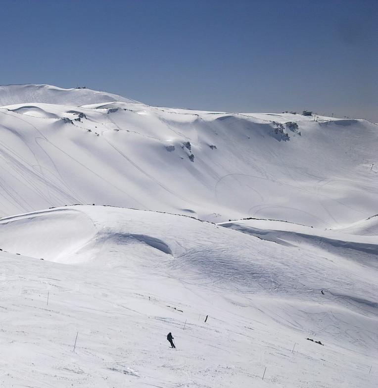Alone and loving it, Mzaar Ski Resort