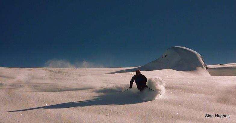 Flaine snow