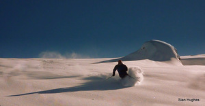 Fresh tracks, Flaine photo
