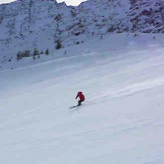 Carl high speed carving, Courmayeur