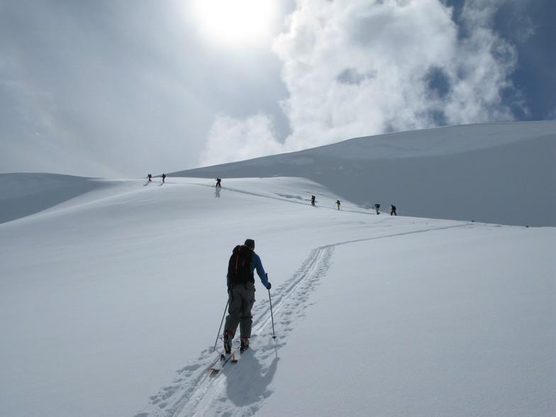 Spectacular up, Whitecap Alpine