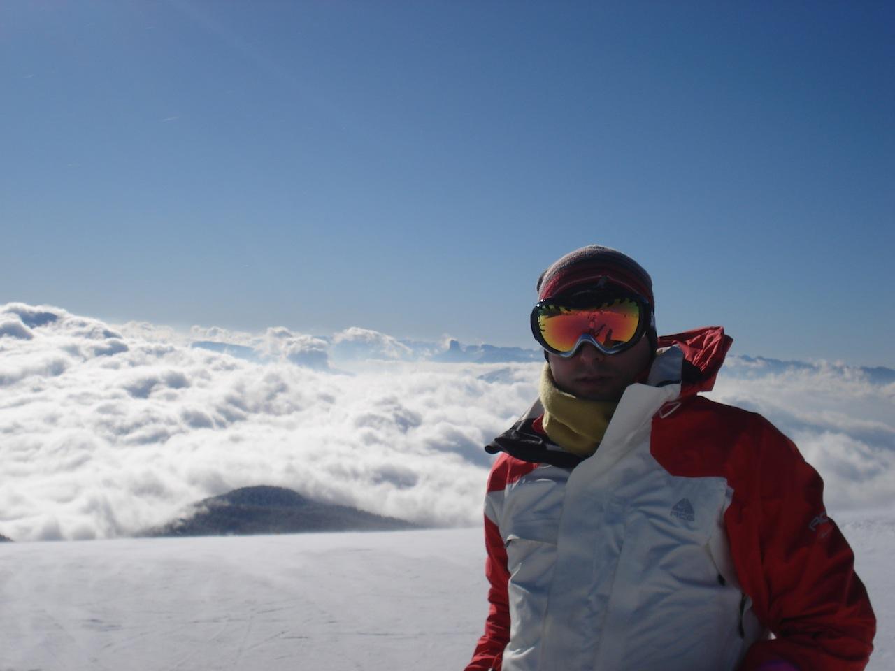 au sommet, Chamrousse