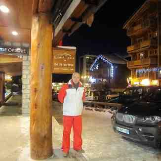 premier jour de nouvelle année 2011, Courchevel