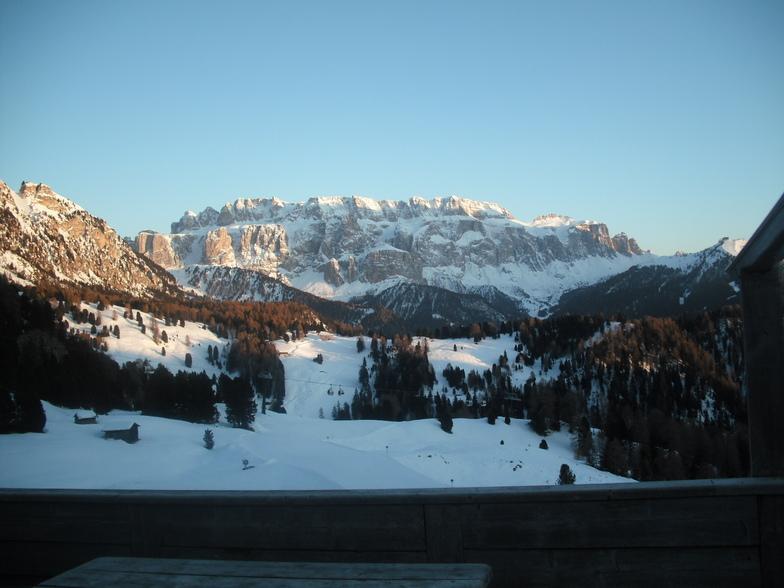 Stunning views on the sella ronda, Selva Val Gardena