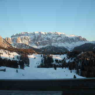 Stunning views on the sella ronda, Val Gardena