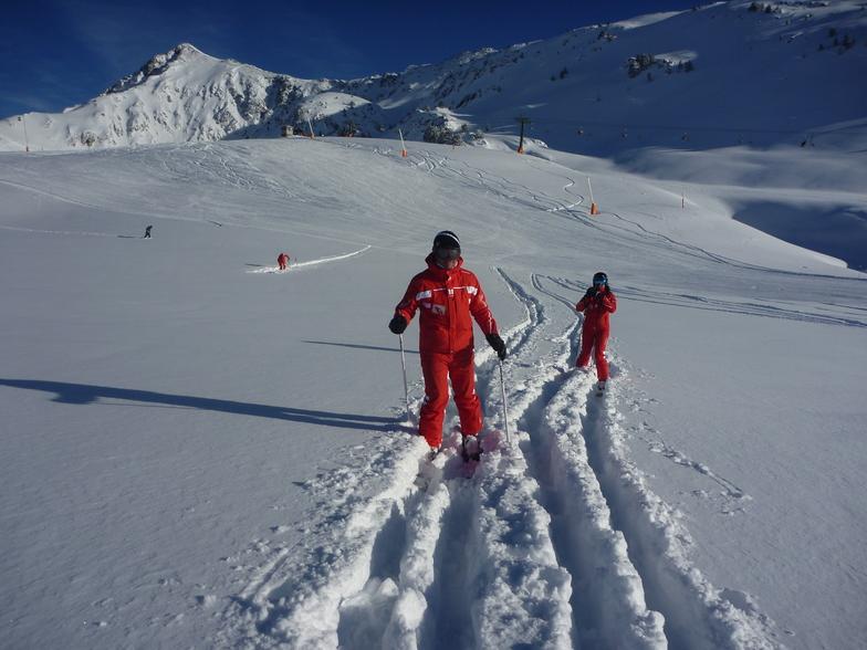 Pyrenees Heliski snow