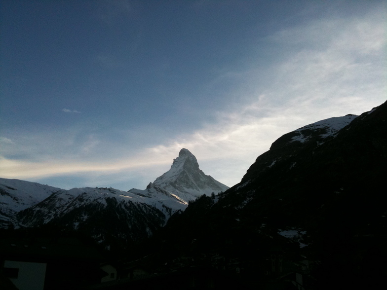 End of another perfect day, Zermatt
