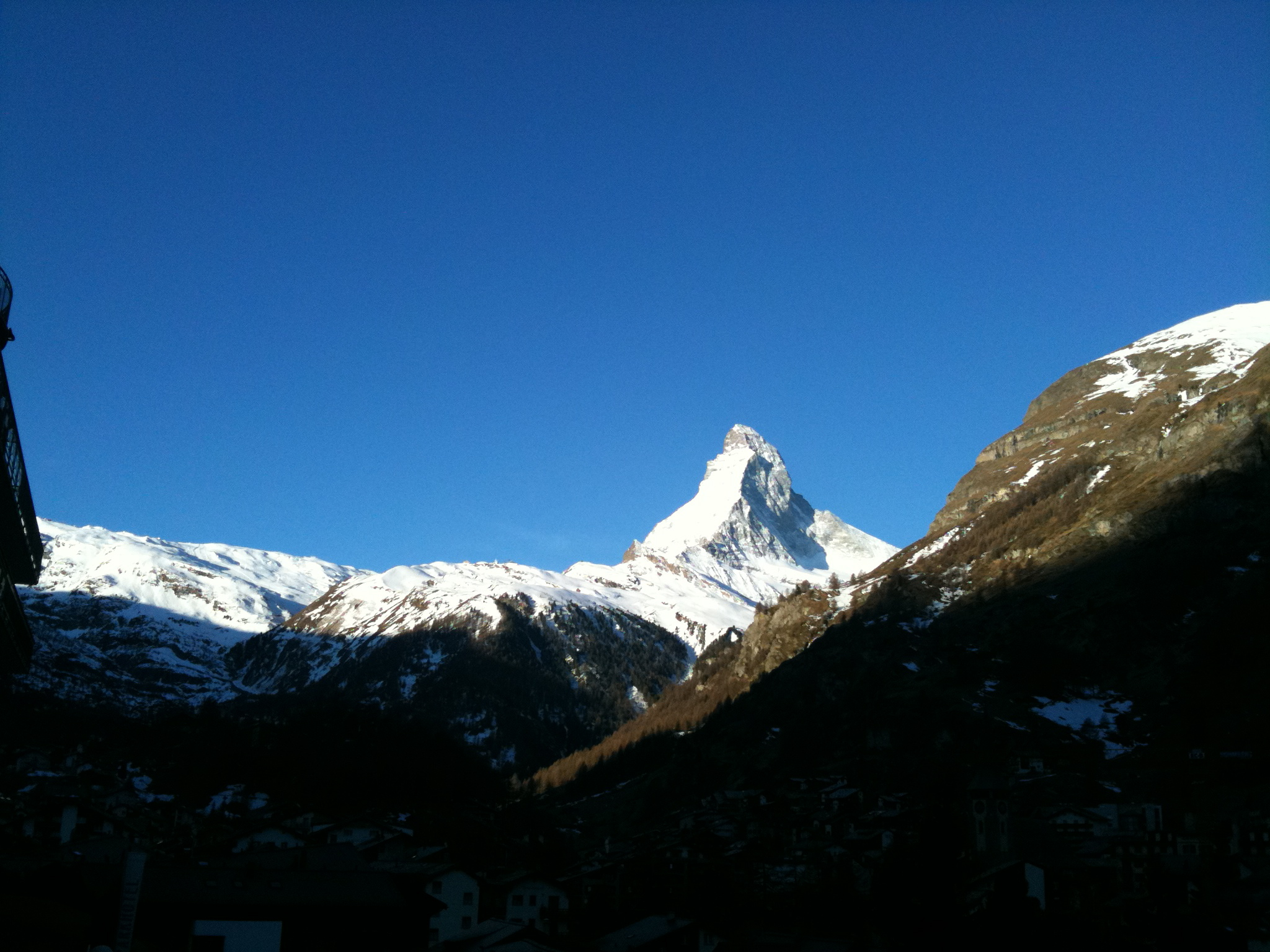 Good Day Sunshine !, Zermatt
