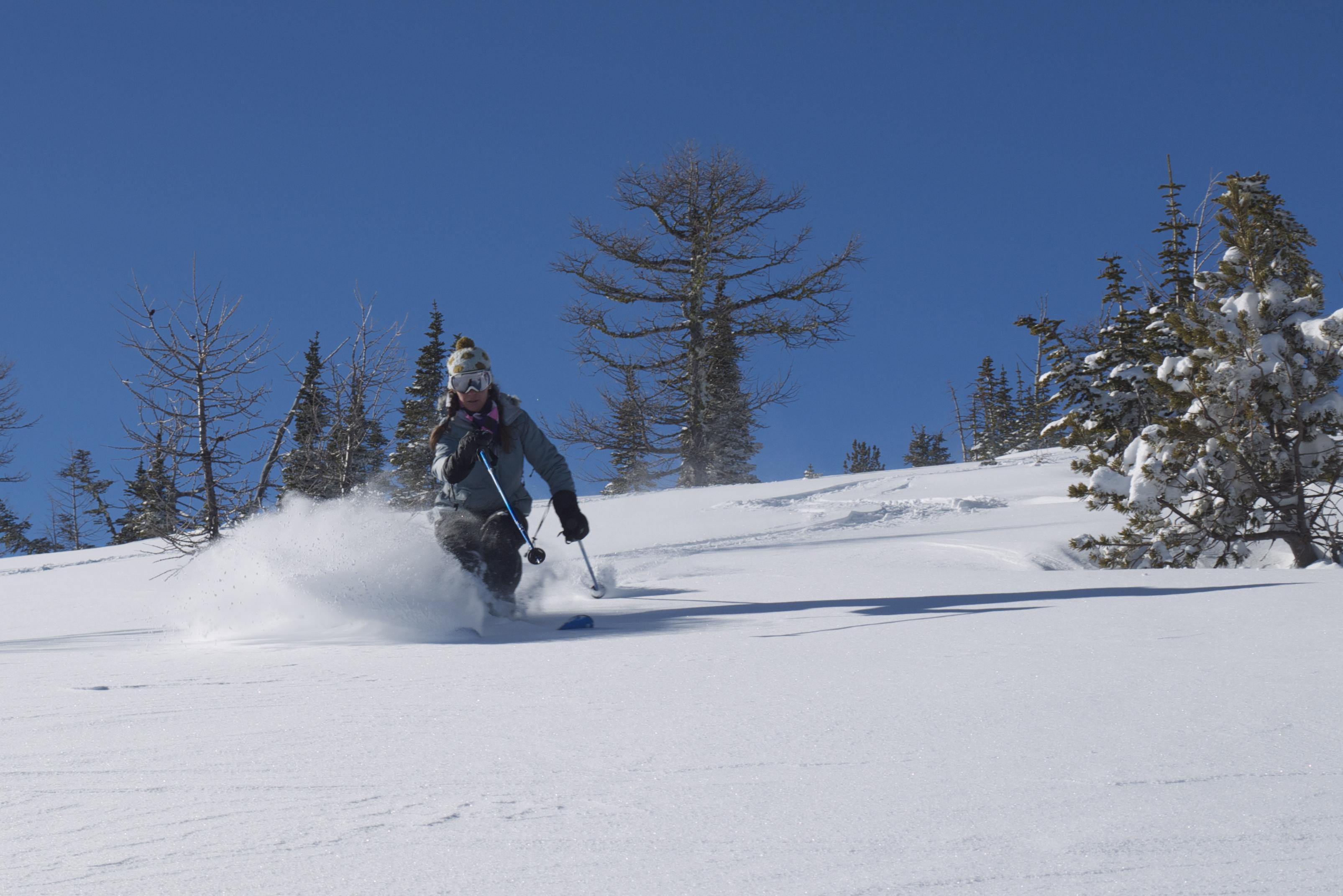 Judy, Castle Mountain Resort