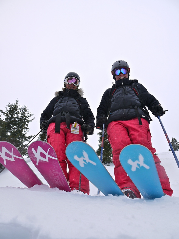 The Twins, Castle Mountain Resort