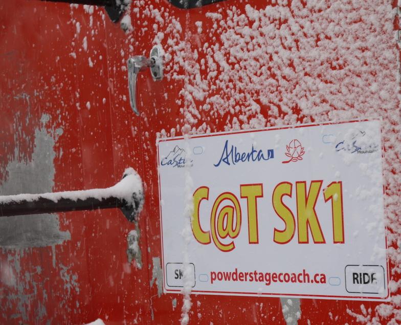Alberta's Only Cat Skiing, Castle Mountain Resort