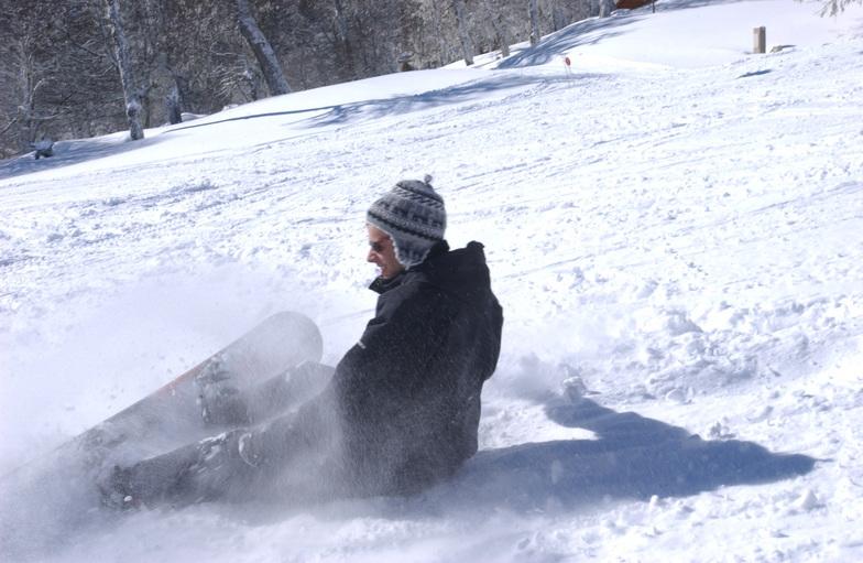 Snowboard en Ladera Sur, Chapelco