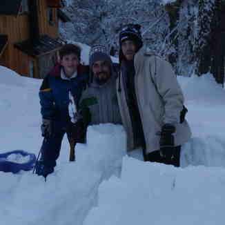 Construyendo un igloo, Las Pendientes