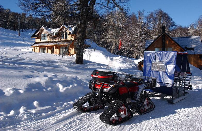 Ladera Sur ski en Las Pendientes