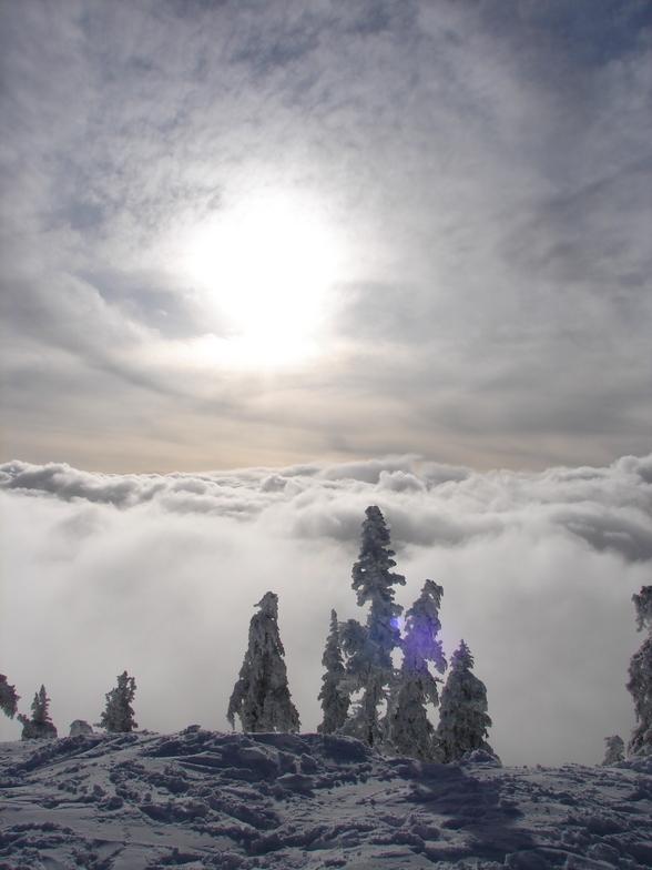 MT washington clouds, Mount Washington