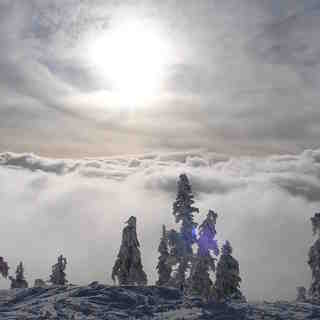 MT washington clouds, Mount Washington
