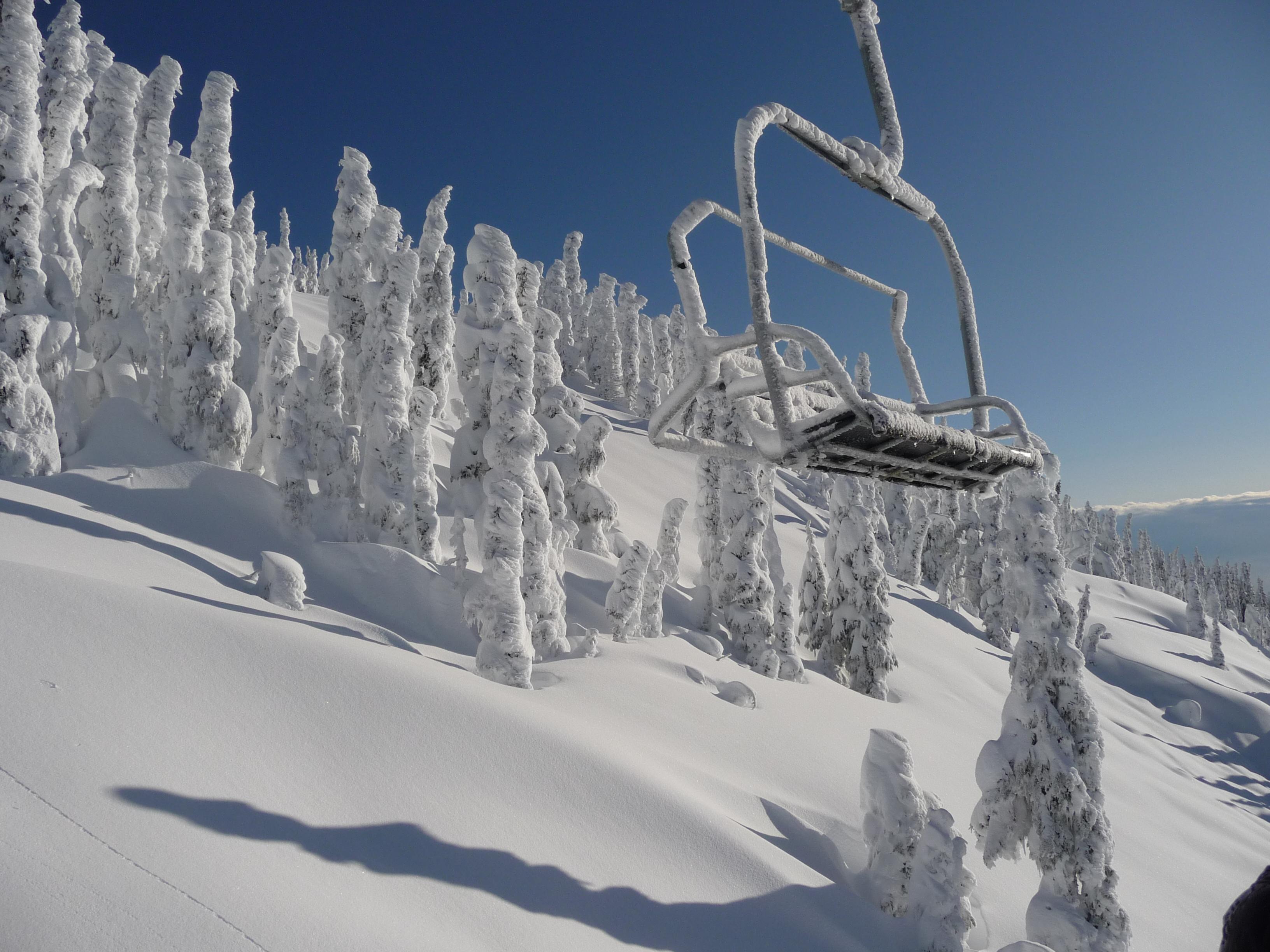 Mount Washington powder