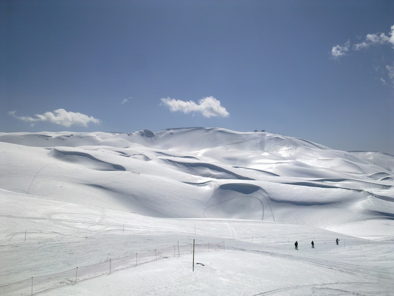endless walk, Mzaar Ski Resort