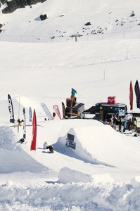 Freestyle Park, Saas Fee photo