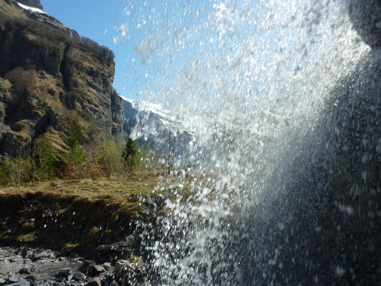 Beautiful cascade at Sixt Fer a cheval, Samoens