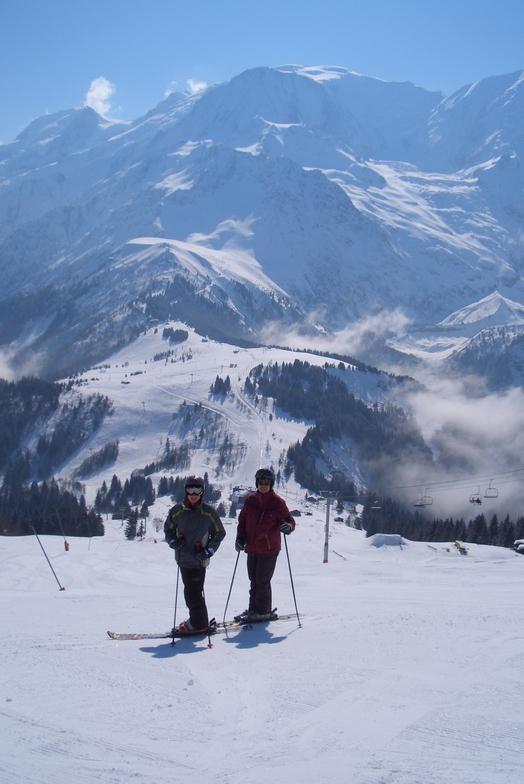 Mont Blanc, Les Houches
