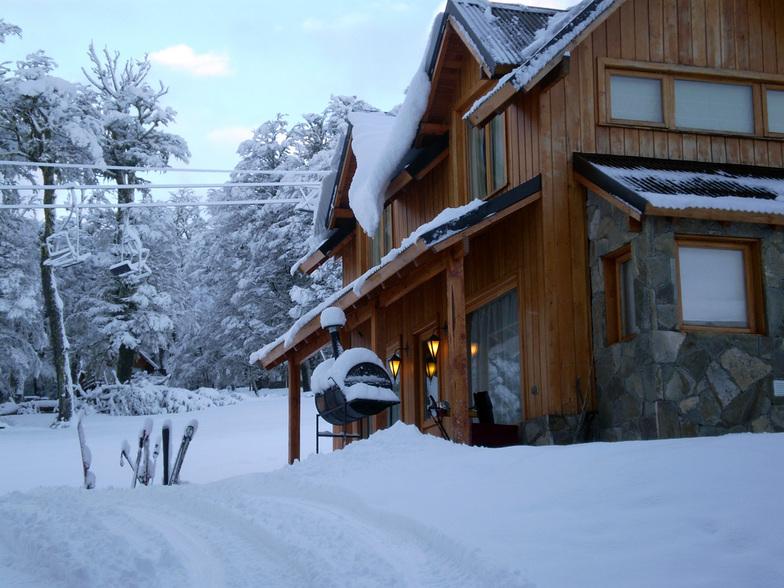 Nieva en Ladera Sur, Chapelco