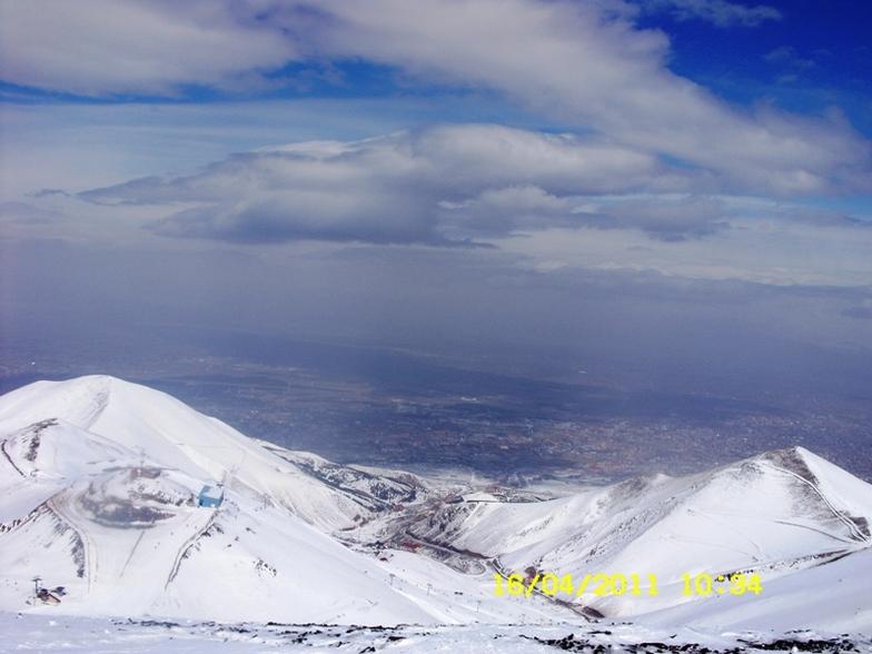 Palandöken Ejder zirveden (3100 m), Mt Palandöken