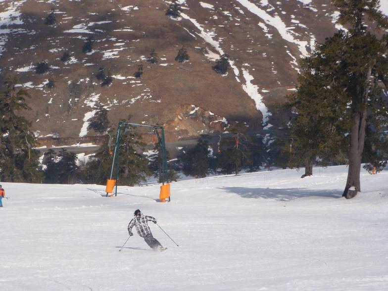 Skiing at Vasilitsa