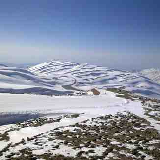 view from top of wardeh, Mzaar Ski Resort