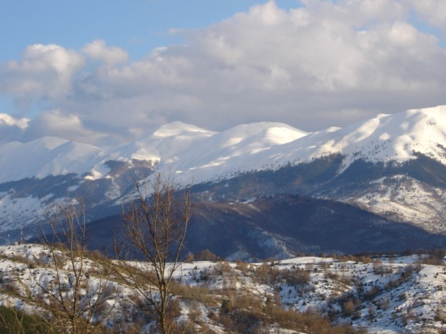 Falakro Ski Resort snow