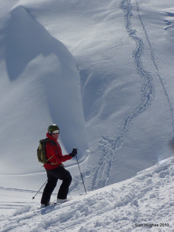 Off Piste from the Mossettes, Avoriaz
