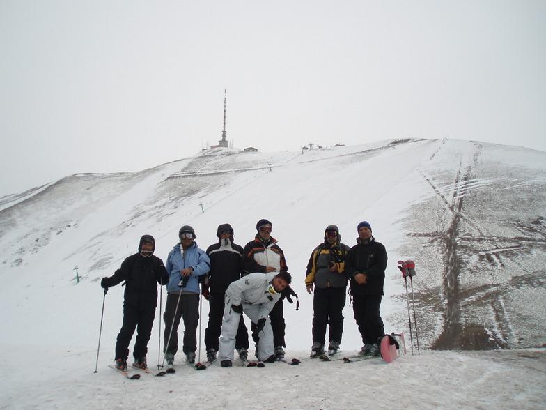 Under Ejder Peak, Mt Palandöken