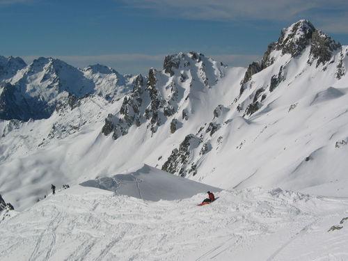 Saint François Longchamp Ski Resort by: Sac