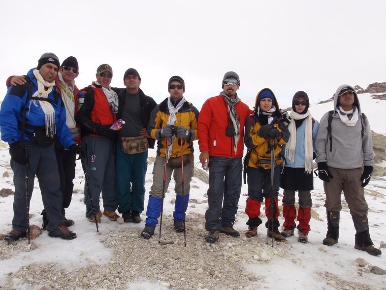 Mohammad & the Group, Mount Damavand