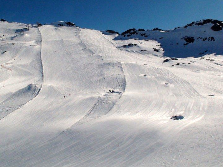 Mölltaler Gletscher snow