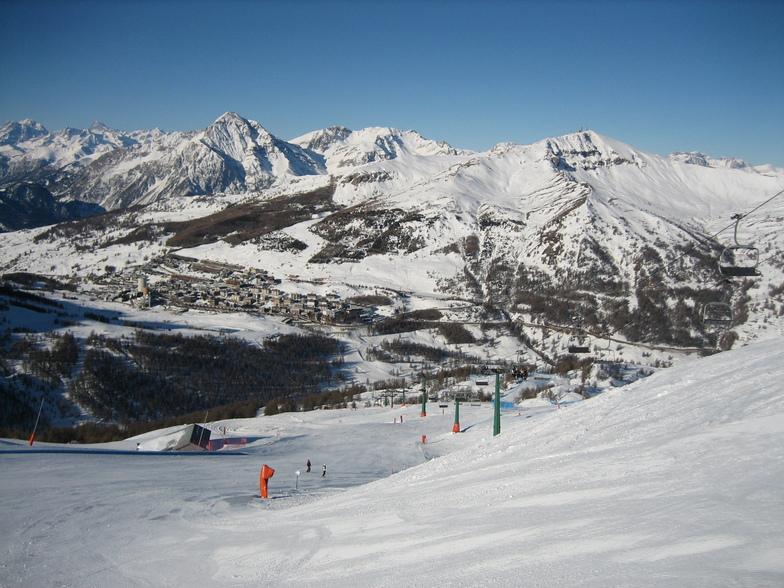 Sestrière (Via Lattea) snow