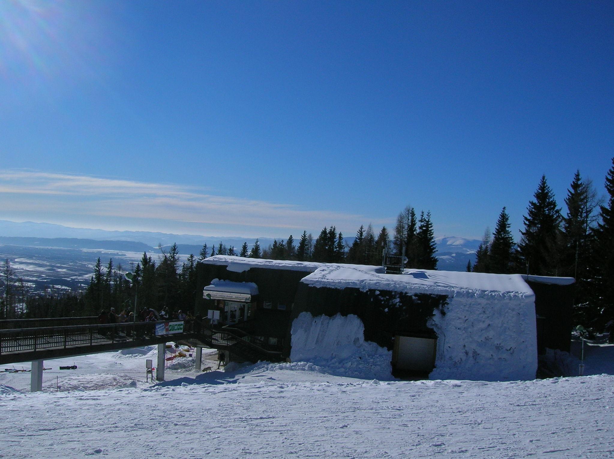 Hrebeniok on 17.2.2007, Ždiar - Bachledova Dolina