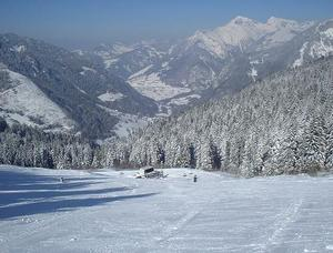 Upper Ski Fields, Drouzin Le Mont photo