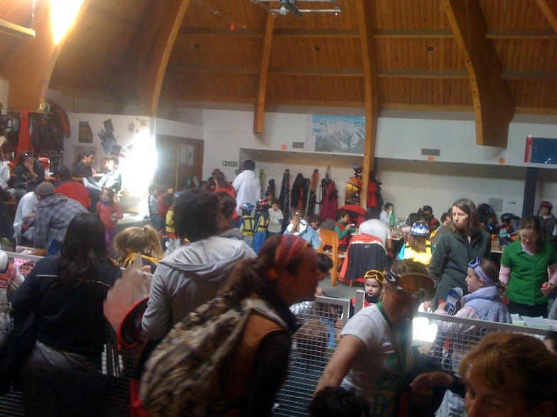 Escuela Mountain - Salon infantil, Cerro Catedral