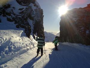 Gemelos en la Brecha, Cerro Castor photo
