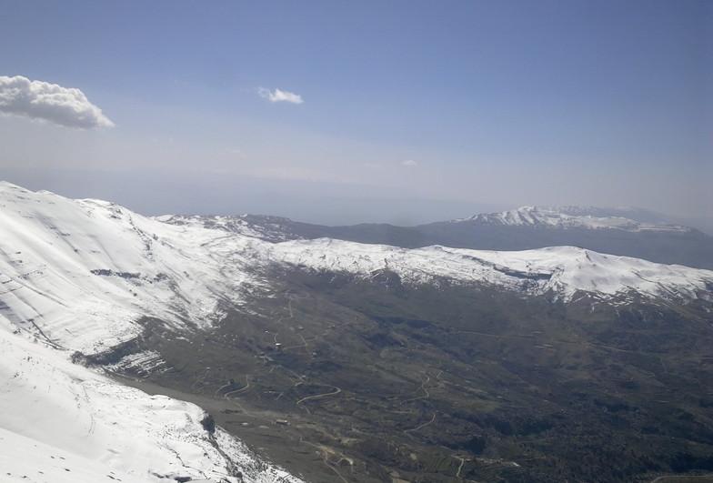 top view, Mzaar Ski Resort