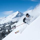 Powder at CS Irwin, USA - Colorado