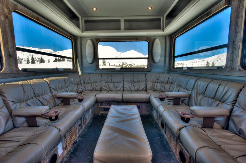 Luxury Transport, Irwin Catskiing by Eleven