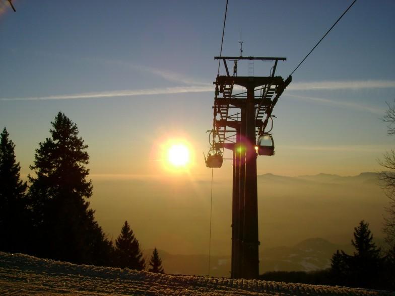 A sunset at Krvavec-Slovenia