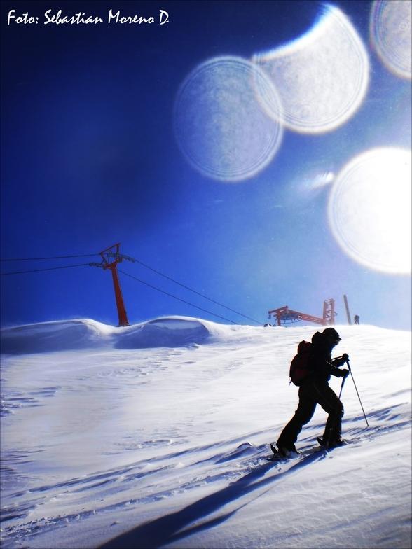 first day season 2011, Nevados de Chillan