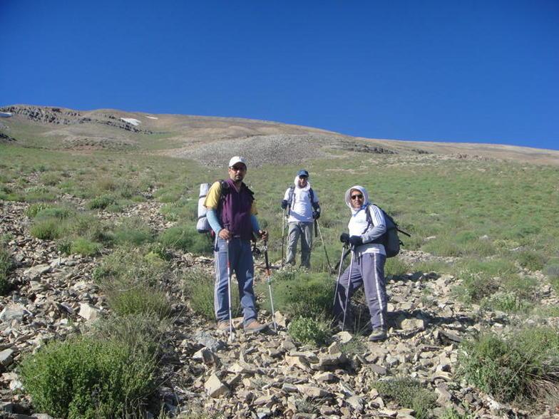 صعود به قله شاه نشین از چشمه کف آوو, Tochal