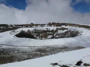 The Ash Pit (Crater), Mount Kilimanjaro photo