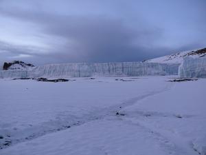 Furtwangler Glacier, Mount Kilimanjaro photo